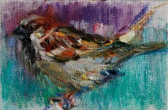 Little Sparrow Bird (SOLD)