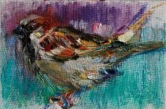 Little Sparrow Bird (SOLD)