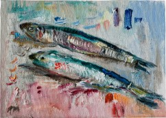 Two Anchovies (SOLD)