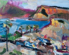 Mountains of the Bay of Portman (SOLD)