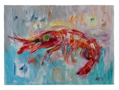 Red Prawn (SOLD)