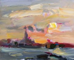 Dreamy Cloudy Sunrise (SOLD)