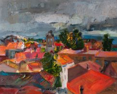 Thunderstorm over the City (SOLD)