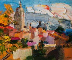 Segovia: Autumn Landscape (SOLD)