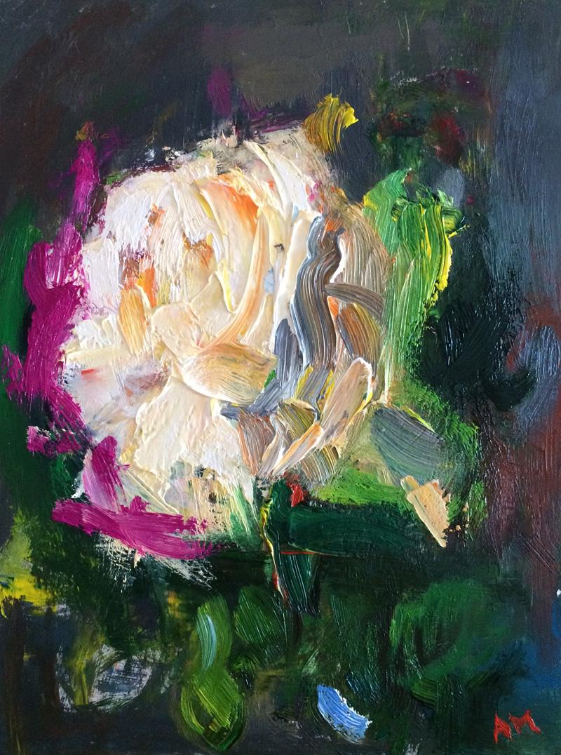 Dreaming White Garden Rose