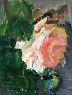 Impressionistic Light Pink Rose